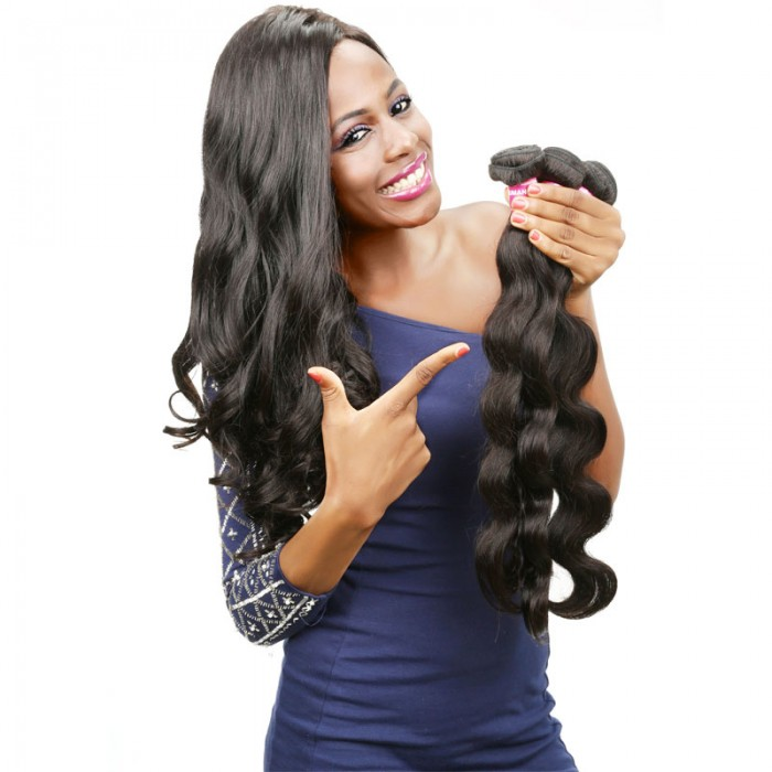 100 UNice Human Virgin Hair 3 Bundles Remy Body Wave Hair
