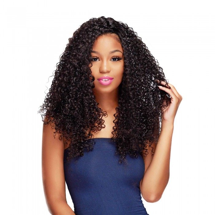 UNice Virgin Human Hair 3pcs/pack Virgin Jerry Curly Wave  Hair
