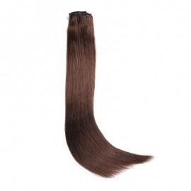 UNice 100g #4 Medium Brown Hair Extensions Clip In Hair 8Pcs/set
