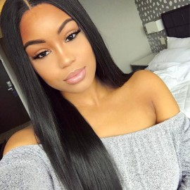 Best UNice 4 Bundles Straight Virgin Hair With Lace Closure