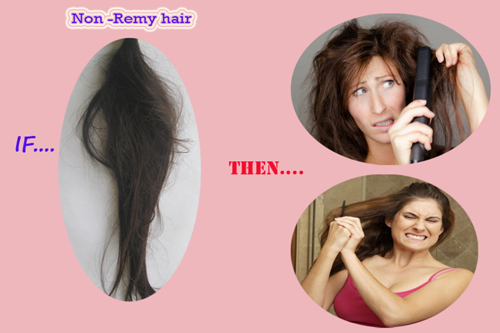 what is non-remy hair