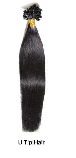 U tip hair