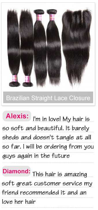 4pcs brazilian straight hair