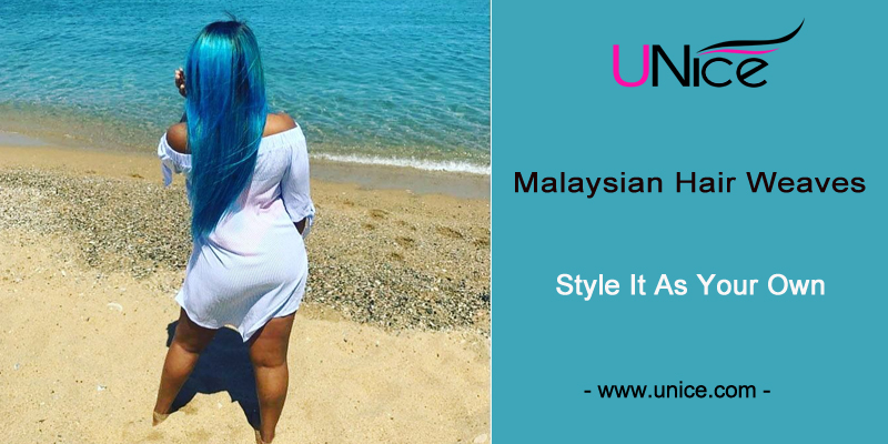 Malaysian human hair weaves,style it as your own hair