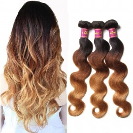 brazilian ombre body wave 3bundles