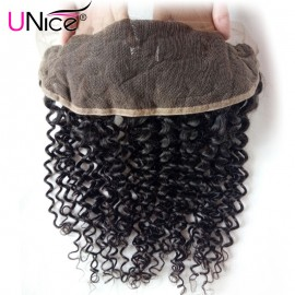 curly hair with lace frontal closure
