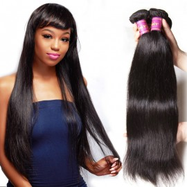 peruvian straight wave hair