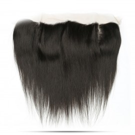 straight hair with frontal closure