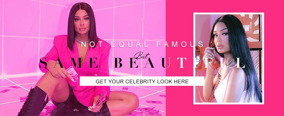 Get your celebrity look here