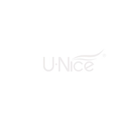 UNice Sky Blue Pre Colored Straight Lace Part Human Hair Wigs